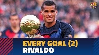 BARÇA GOALS | Rivaldo (1999-2002)