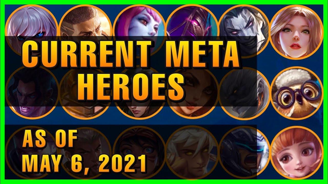 CURRENT META HEROES AS OF MAY 20, 20   SEASON 20   MOBILE LEGENDS TIER LIST