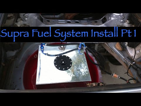 MK3 Supra Fuel Cell Install Pt 1 (7MGTE)
