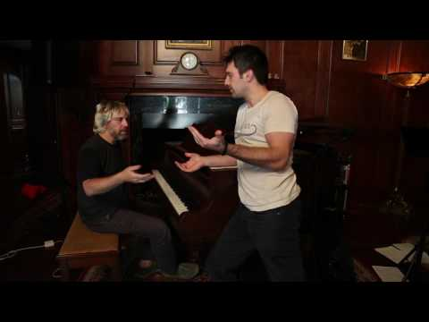 Hans Groiner Gives Me A Jazz Piano Lesson