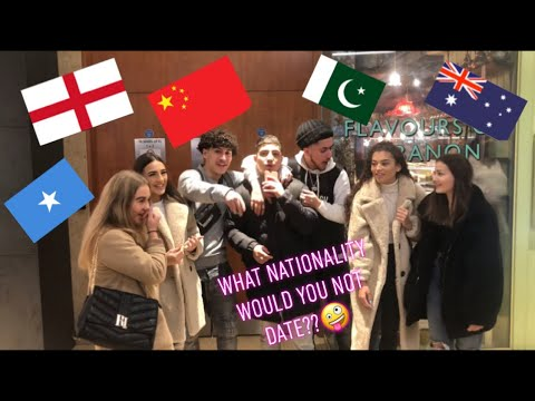 What nationality would you not date ( Birmingham public interview)
