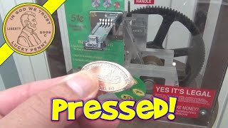 St. Louis Penny Press Coin Machine - Lucky Pressed Souvenir Pennies!