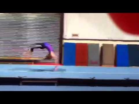 Roundoff 4 flicks gymnastics :)