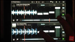 Traktor DJ for iPad - DJ Mix by Kawatin