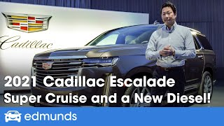 2021 Cadillac Escalade First Look ― New Diesel, Hands-Free Driving, and OLED Display!