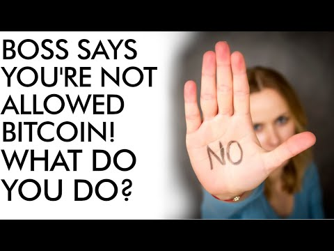 You Are NOT Allowed To OWN BITCOIN!
