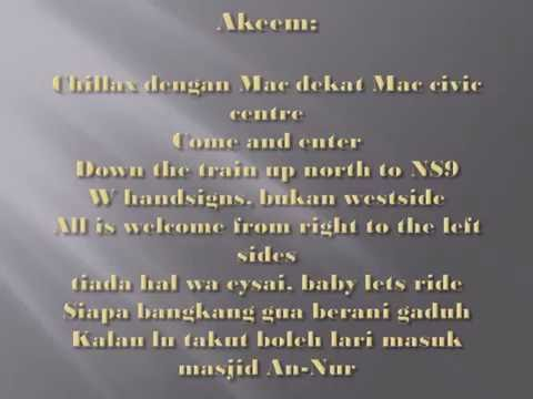 Akeem - Woodlands(Lyrics)