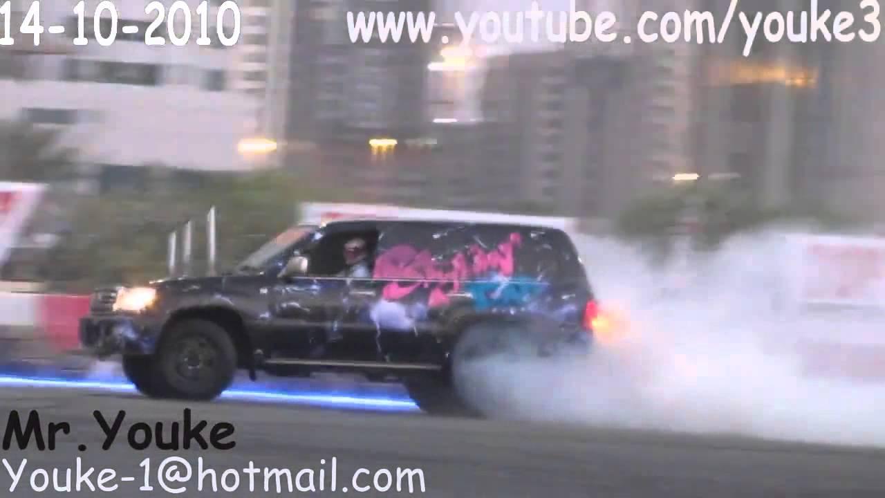 Toyota land cruiser 100 tuning drifting youtube sciox Choice Image