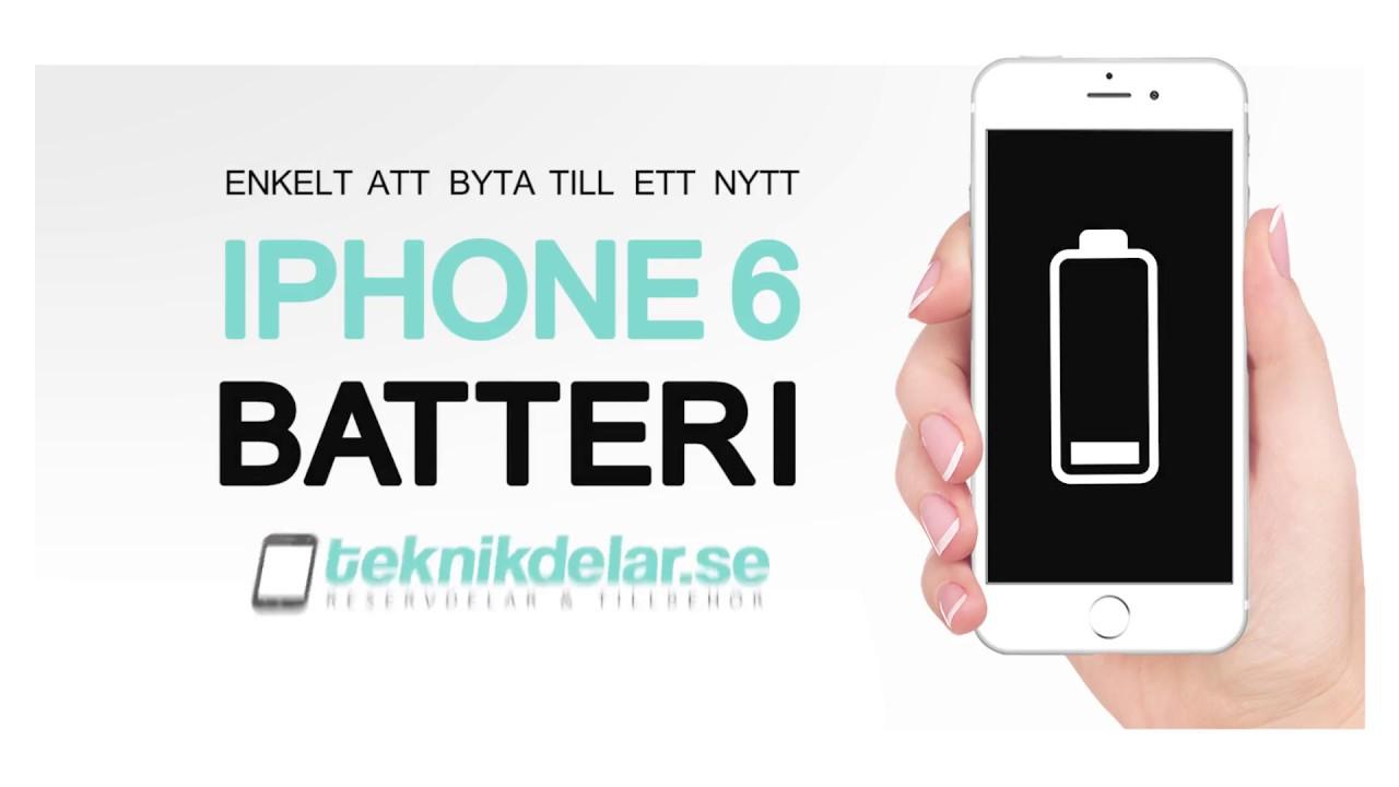 NYTT BATTERI IPHONE 5 GRATIS
