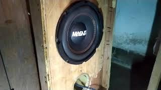 Magnetz 8 inch subwoofer | 8 inch magnetz subwoofer bass test
