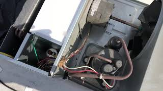 TRUCK CAMPER AC UNIT COIL CLEANING