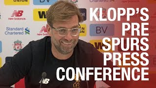 Jürgen Klopp's pre-Tottenham press conference | Clyne latest, Van Dijk and more