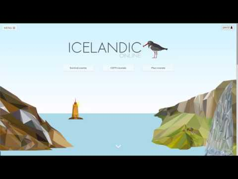 Welcome to the new Icelandic Online