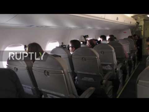 Switzerland: Eight-minute flight! World's shortest intnl flight takes off