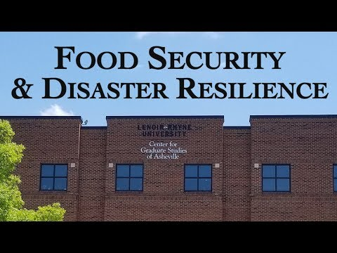 Food Security & Disaster Resilience