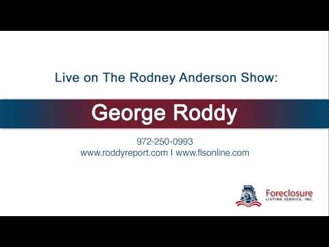George Roddy Sr. live on News Radio in Dallas