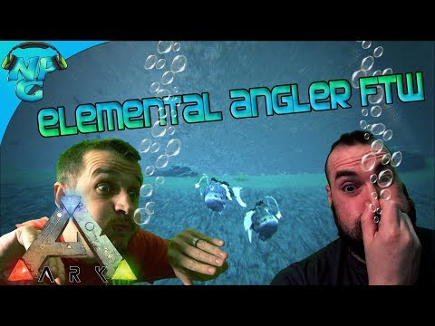 Under Sea Living and Elemental Angler Fish FTW! ARK Future Evolved S2E14