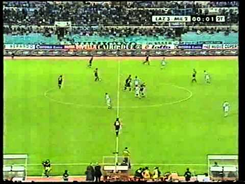 Football Italia Mezzanote - Lazio V AC Milan (1999-00 Season Full Match)