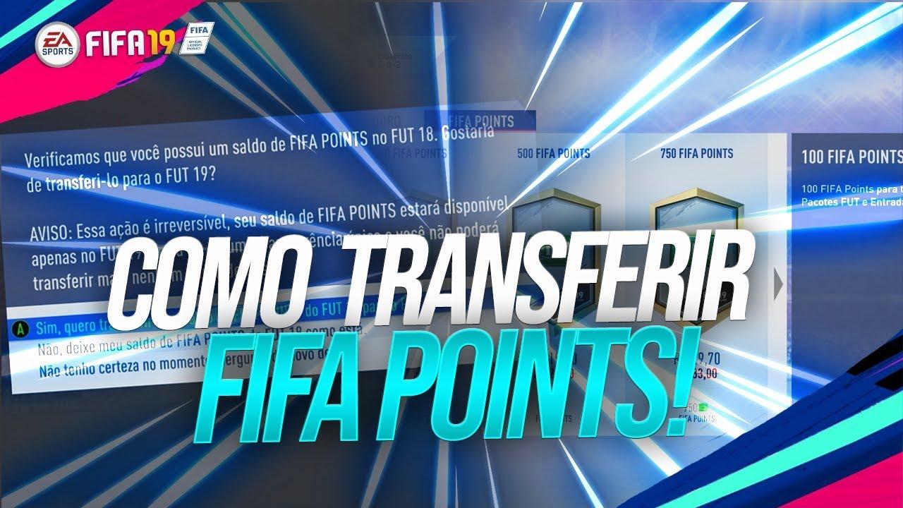 55c115fc5 COMO TRANSFERIR FIFA POINTS PARA O FIFA 19! - YouTube