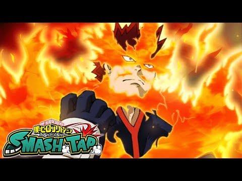 HE DOESN'T BURN? Endeavor EX Event!   My Hero Academia SMASH TAP!