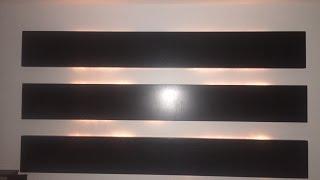 Tutorial de Como construir una Cabecera flotante minimalista con luz en la parte de atras