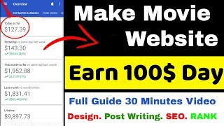 How to Create Movie Downloading Website in Blogger  [ Hindi Video 2020]