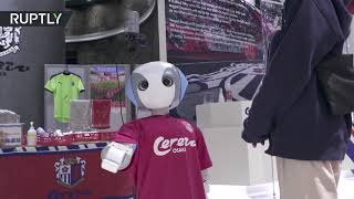 'Please wear a mask' | Japanese robot controls compliance with COVID restrictions in store