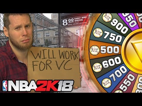NBA 2K18 WHEEL OF POVERTY! Poorest Wheel Ever!