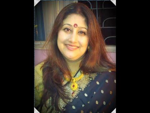 All India Radio Agra Interview of Aparna Chaudhuri   Aparnar Jhuli