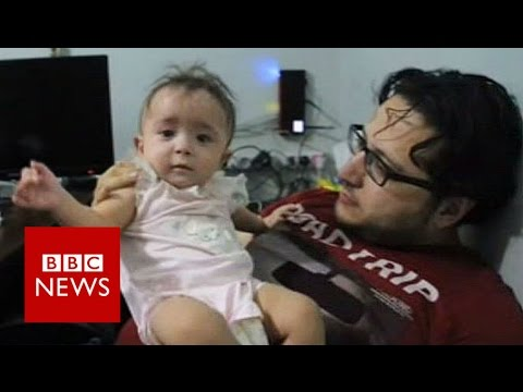 The doctor saving lives in Aleppo - BBC News