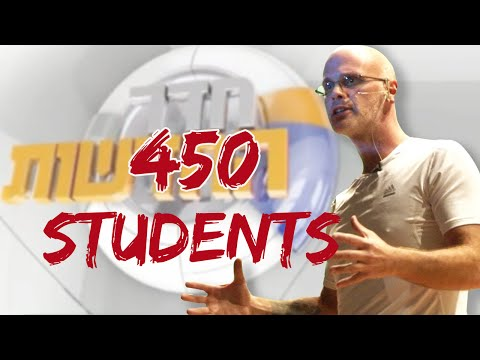 Gary Yourofsky speaks to 450 students at Ben Gurion University