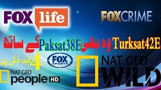 How to setturksat42Eon paksat 38Nat Geo Wild free to air on 4feet dishurdu hindi