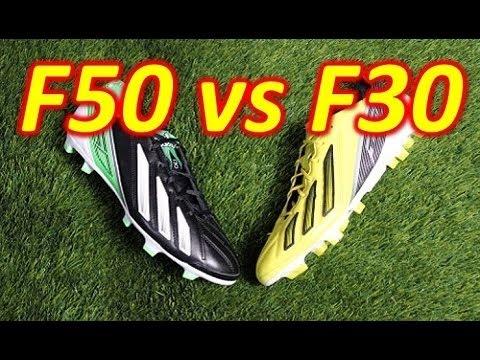 0dbbe0f67 Adidas F50 adizero miCoach 2 VS F30 miCoach 2 - Comparison - YouTube