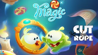 Cut The Rope: Magic - Mushroom Land Walkthrough All Levels
