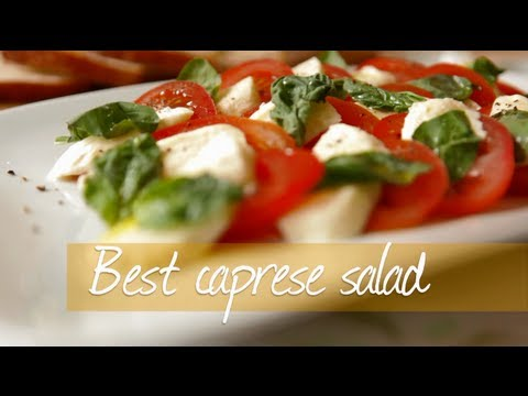 Best caprese salad video recipe - YouTube