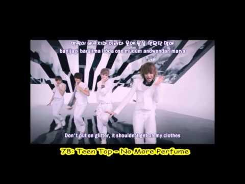 My Top 100 Favorite K-Pop Songs (Part 1/2)