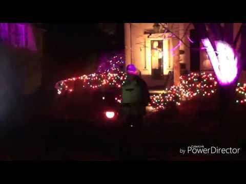Dec 2016.Christmas  West Pittston. PA