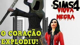 MORTO DE RAIVA!! - VIÚVA NEGRA #6 - THE SIMS 4