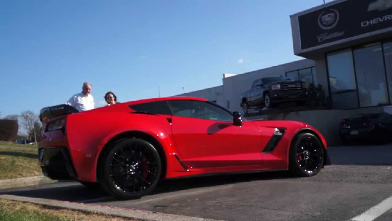driving the brand new 2015 corvette z06 w z07 package off the lot youtube - Corvette 2015 Z06 Red