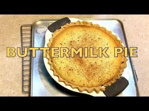 Buttermilk Pie cheekyricho cooking video recipe ep. 1,232