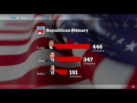 Republican Trump wins in Mississippi, Michigan and Hawaii