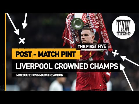 rpool Crowned Champions  The Post-Match Pint  Five-Minute Teaser