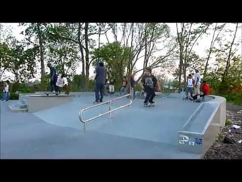 Train Emergency, Skateboarding, and Canarsie Brooklyn