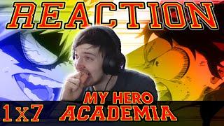 My Hero Academia: Season 1 - Episode 7 REACTION