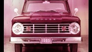 1965 Dodge Trucks Dealer Promo Film - New Size Toughness Dodge