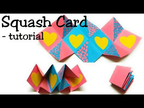 Squash Card Easy Tutorial- DIY Card Making Ideas