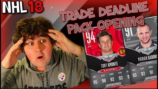 TRADE DEADLINE AND CS PACK OPENING!!