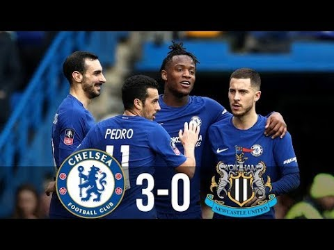 Download Chelsea vs Newcastle 3-0 ● All Goals & Extended Highlights ● FA Cup {28/01/2018} |HD|