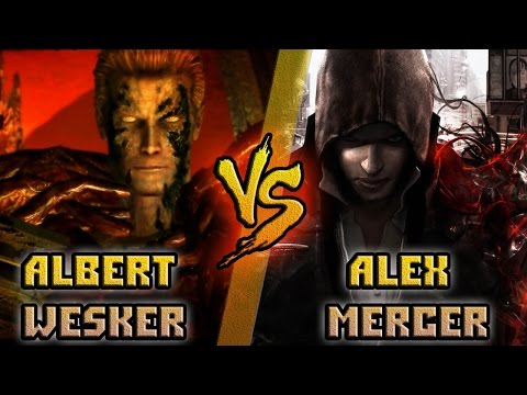 Альберт Вескер vs Алекс Мерсер / Wesker (Resident Evil) vs Mercer (Prototype) Кто кого? [bezdarno]