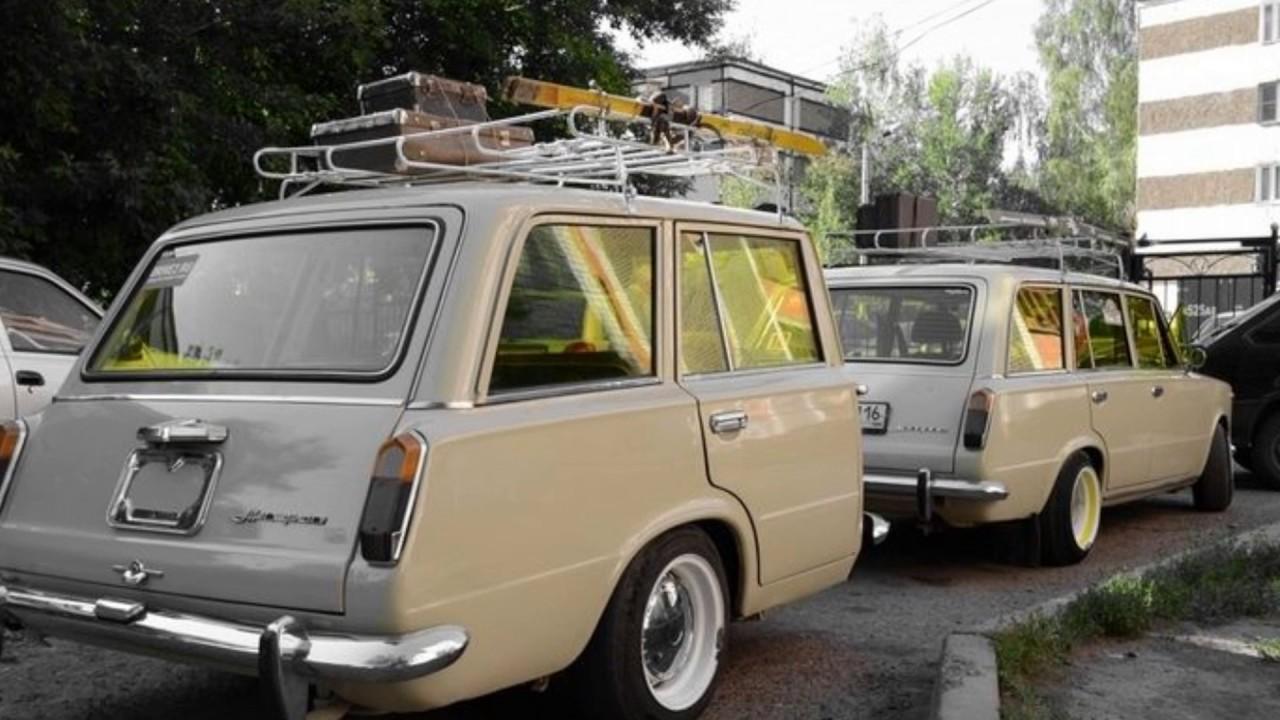 Полтора автомобиля ВАЗ 2102